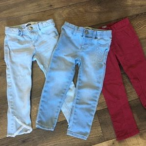 Bundle of jeans & cords